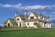 House Plan Design - European Exterior - Front Elevation Plan #928-66