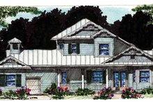 House Plan Design - Country Exterior - Front Elevation Plan #1007-55
