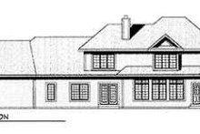 Dream House Plan - European Exterior - Rear Elevation Plan #70-547