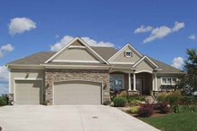 Home Plan - Traditional Exterior - Front Elevation Plan #320-485