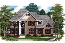 House Plan Design - Traditional Exterior - Front Elevation Plan #927-74
