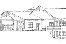 Architectural House Design - Ranch Exterior - Other Elevation Plan #942-32