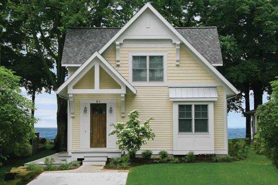 Dream House Plan - Bungalow Exterior - Front Elevation Plan #928-191