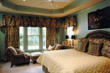 Home Plan - Classical Interior - Bedroom Plan #429-248