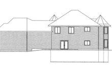 Victorian Exterior - Rear Elevation Plan #117-864