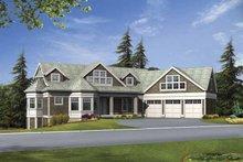 Craftsman Exterior - Front Elevation Plan #132-485