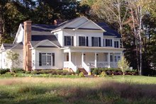 Home Plan Design - Country Exterior - Front Elevation Plan #429-334
