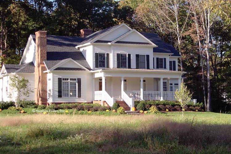House Plan Design - Country Exterior - Front Elevation Plan #429-334