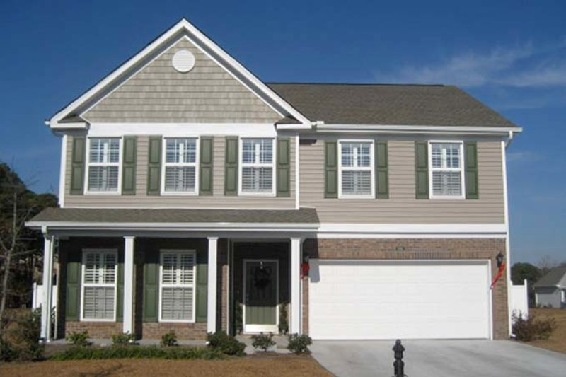 Architectural House Design - Traditional Exterior - Front Elevation Plan #1053-50