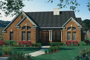 Traditional Exterior - Front Elevation Plan #120-196