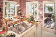 Dream House Plan - Country Interior - Kitchen Plan #929-190