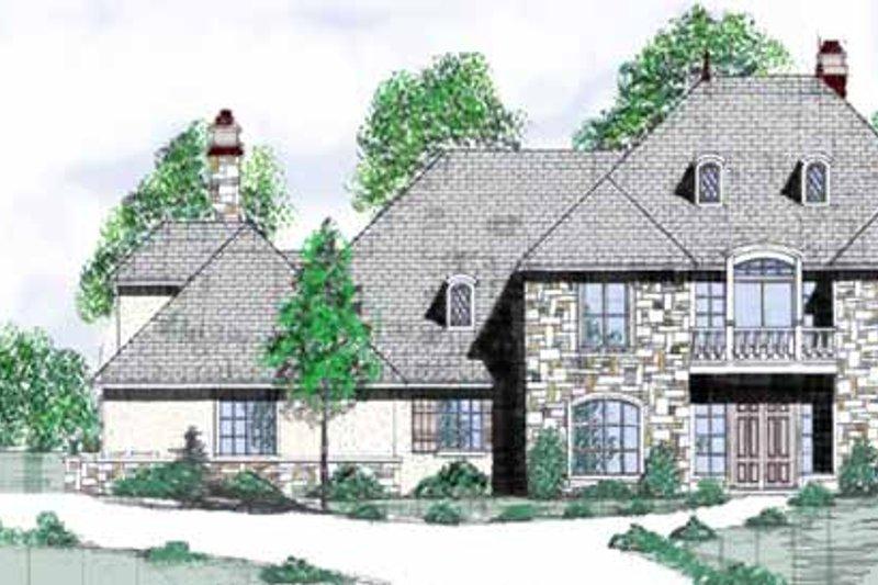 House Plan Design - European Exterior - Front Elevation Plan #52-248