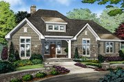 Ranch Style House Plan - 3 Beds 2 Baths 1914 Sq/Ft Plan #929-1011 Exterior - Front Elevation