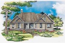 Dream House Plan - Craftsman Exterior - Front Elevation Plan #929-328