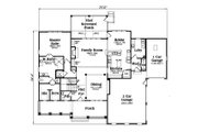 Country Style House Plan - 3 Beds 3.5 Baths 3307 Sq/Ft Plan #419-267 Floor Plan - Main Floor Plan