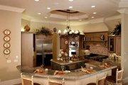 Mediterranean Style House Plan - 5 Beds 5.5 Baths 6780 Sq/Ft Plan #27-216 Interior - Kitchen
