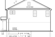 Colonial Exterior - Other Elevation Plan #1053-54