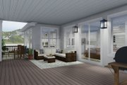 Traditional Style House Plan - 4 Beds 3.5 Baths 5212 Sq/Ft Plan #1060-69 Exterior - Outdoor Living