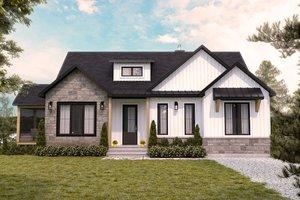 Farmhouse Exterior - Front Elevation Plan #23-2753