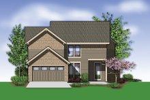 Dream House Plan - Craftsman Exterior - Rear Elevation Plan #48-577