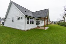 Farmhouse Exterior - Rear Elevation Plan #1070-97