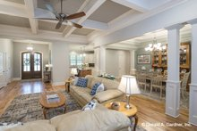 Home Plan - Ranch Interior - Family Room Plan #929-1059