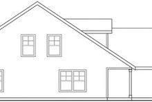Architectural House Design - Craftsman Exterior - Other Elevation Plan #124-808