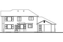 Traditional Exterior - Rear Elevation Plan #308-124