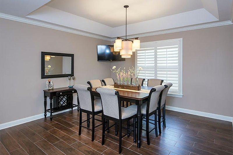 Craftsman Interior - Dining Room Plan #929-7 - Houseplans.com