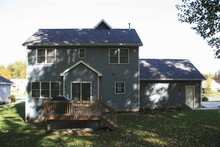 House Plan Design - Country Exterior - Rear Elevation Plan #928-127
