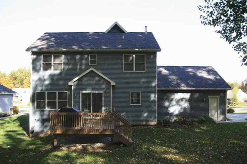 Country Exterior - Rear Elevation Plan #928-127 - Houseplans.com