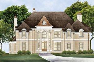 House Plan Design - European Exterior - Front Elevation Plan #119-421