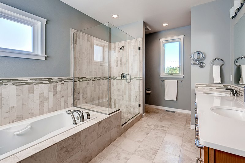 Prairie Interior - Master Bathroom Plan #1042-17 - Houseplans.com