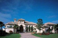 House Plan Design - Mediterranean Exterior - Front Elevation Plan #930-187