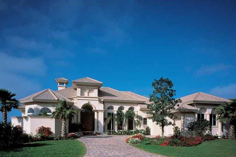 Architectural House Design - Mediterranean Exterior - Front Elevation Plan #930-187