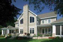 House Plan Design - Craftsman Exterior - Rear Elevation Plan #928-188