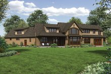 Home Plan - Craftsman Exterior - Rear Elevation Plan #48-909
