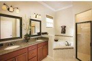 Mediterranean Style House Plan - 3 Beds 2.5 Baths 2287 Sq/Ft Plan #938-20 Interior - Master Bathroom