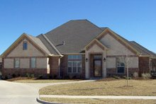 Dream House Plan - Traditional Exterior - Front Elevation Plan #84-505