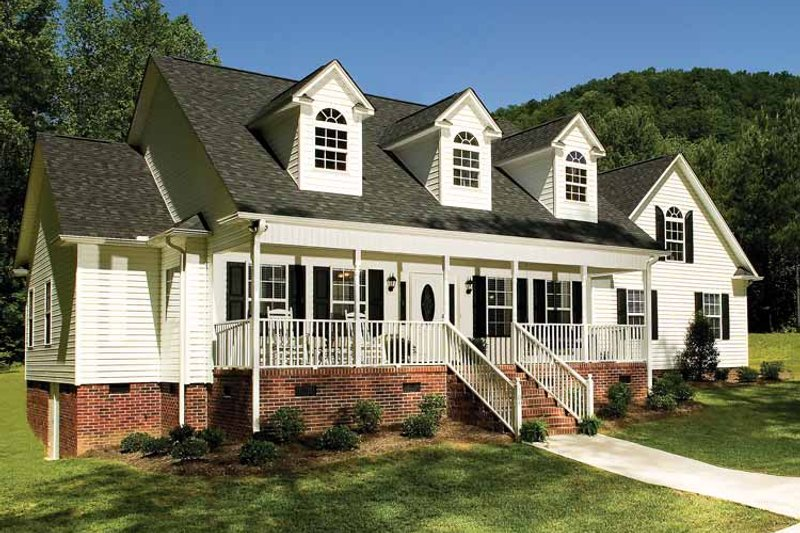 Ranch Exterior - Front Elevation Plan #929-244 - Houseplans.com