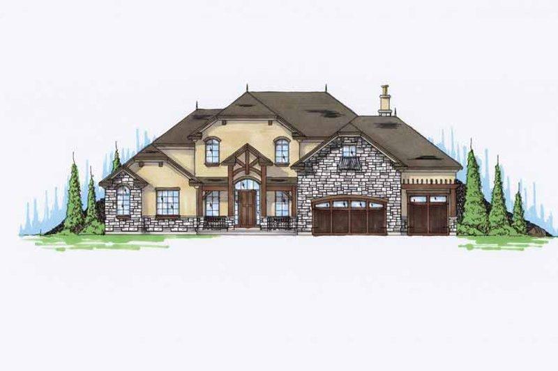 Craftsman Exterior - Front Elevation Plan #945-69 - Houseplans.com