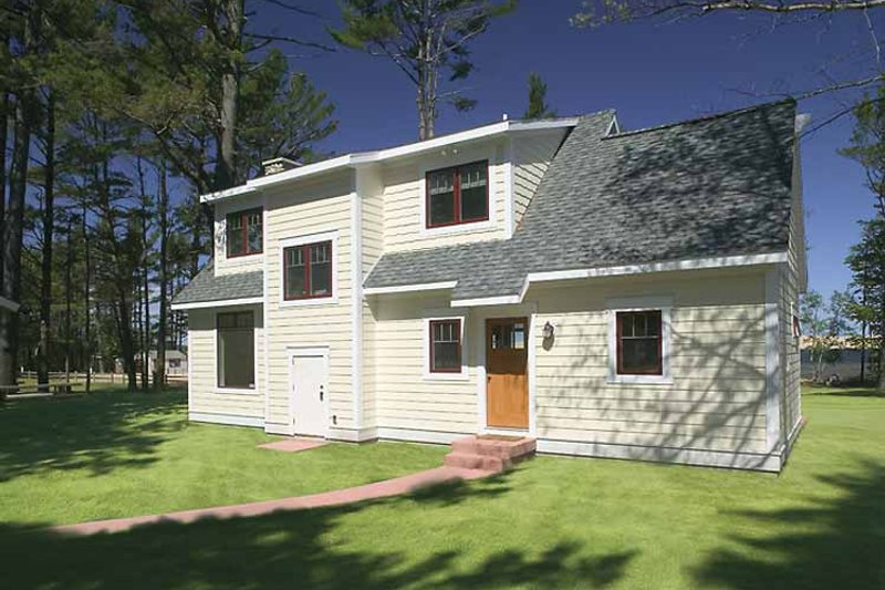 Craftsman Exterior - Rear Elevation Plan #928-90 - Houseplans.com