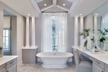 Mediterranean Interior - Master Bathroom Plan #1017-158