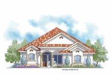Home Plan - Mediterranean Exterior - Front Elevation Plan #938-24