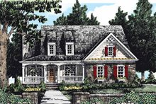 Home Plan - Country Exterior - Front Elevation Plan #927-281