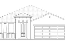 Craftsman Exterior - Front Elevation Plan #1058-60