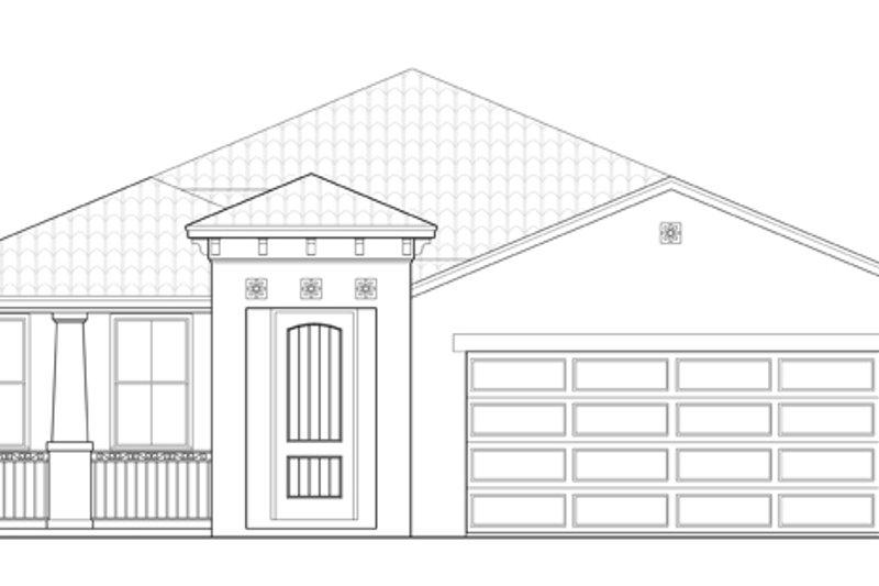 Craftsman Exterior - Front Elevation Plan #1058-60 - Houseplans.com