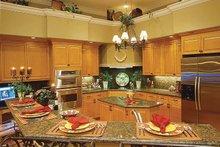 Home Plan - Mediterranean Interior - Kitchen Plan #930-60