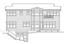 Architectural House Design - Craftsman Exterior - Rear Elevation Plan #132-465