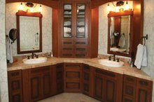 European Interior - Master Bathroom Plan #928-190